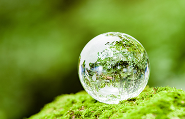 地球環境への貢献イメージ